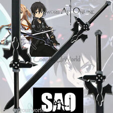 SAO Sword Art Online Kirito Black Elucidator Foam Sword Blade Cosplay Weapon New