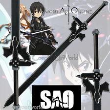 SAO Sword Art Online Kirito Black Elucidator Foam Sword Blade Cosplay Weapon New
