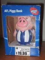 North Melbourne Kangaroos official AFL licensed Piggy Bank