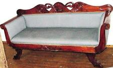 SOFA GARNITUR SET COUCH OHREN SESSEL THRON antik Barock Empire Biedermeier Jugen