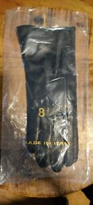 **Brand New** Bloomingdale's Cashmere-Lined Genuine Leather Gloves Sz 8 1/2