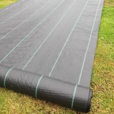 2 m x 50 m Yuzet 100gsm horticole Gridlined couvre-sol mauvaises herbes tissu