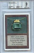 MTG Unlimited Mox Emerald BGS 9.0 (9) Mint Magic Card WOTC
