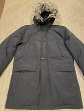 Michael Kors Men's Black Hooded Bib Snorkel Parka Coat M- $375
