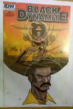 Series 2014 Subscr Cover Uncorrected Error BLACK DYNAMITE #2 Based On The T.V