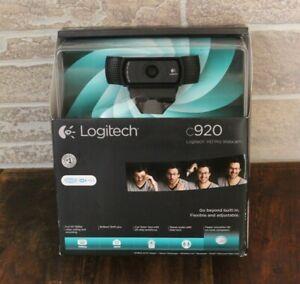 New - Logitech C920 (960-000764) HD Pro Webcam - Black - Free Shipping