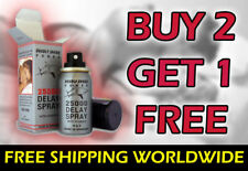 DEADLY SHARK POWER 25000 DELAY SPRAY BUY 2 GET 1 FREE!! Premature Ejaculation