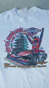 Vintage U.S Grand Prix The World Comes To Indy Tshirt