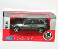 Welly - BMW X5 (Grey) Model Scale 1:34-1:39