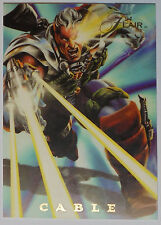1994 Flair - Marvel Universe - Power Blast Card: #1 Cable
