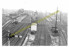 Scunthorpe Railway Station Photo. Appleby to Althorpe and Winterton Lines. (2)