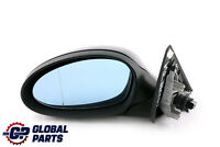 BMW 3 Series 1 E90 E91 Power Fold Heated Left Wing Mirror N/S Black Sapphire