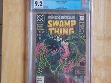 SWAMP THING #53 CGC 9.2 - BATMAN APPREARANCE