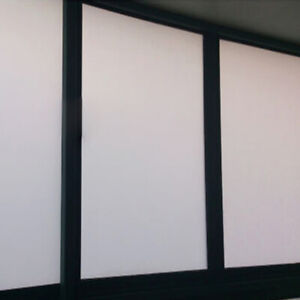 Opaque White Frosted Decorative Window Film home Bedroom bathroom privacy foils