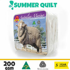 All Size Wool/Bamboo/Duck Down Goose/Microfibre Quilt Doona Duvet Summer Winter