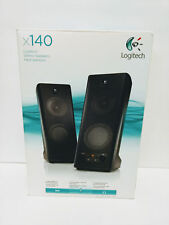 Logitech X-140 Computer Speakers System Use w/ XBox PlayStation PC CD