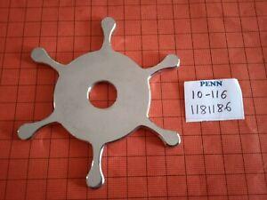 PART 10-116 STAR DRAG WHEEL 1181186 MOULINET REEL PENN SENATOR 116 10/0 12/0