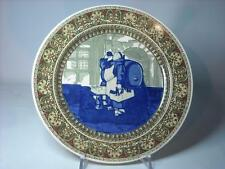 """Royal Doulton MONKS IN THE CELLAR Rack Plate 10.5"""" D2877 Monk Series Ware Scroll"""