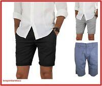 Bermuda shorts da uomo slim di cotone pantaloni corti eleganti 50 52 54 58 guy