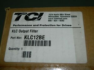 NEW TCI KLC12BE Output Filter 3 Phase 600 Volt 12A Max