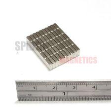 50 Magnets 5x5x2 mm Small Square Neodymium Block craft magnet 5mm x 5mm x 2mm