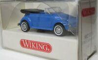 Wiking 1:87 VW 1302 LS Cabriolet Käfer OVP 802 01 lichtblau