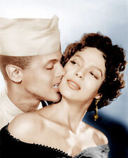 Harry Belafonte and Dorothy Dandridge UNSIGNED photo - B2619 - Carmen Jones