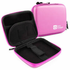 Pink Case With Dual Zip & Belt Clip For Hitachi HGST Touro Mobile MX3 0S03457