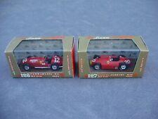 BRUMM 1:43 R126 FERRARI 375 F.1 & R127 LANCIA-FERRARI D50 DIE-CAST RACE CARS