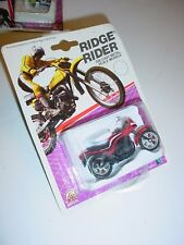 Vintage ZEE Toy 1986 Ridge Rider Kawasaki GPZ 1100 Motorcycle Diecast MIP