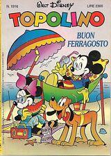 TOPOLINO N° 1916 - 16 AGOSTO 1992