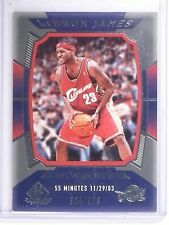 2004-05 UD SP Game Used LeBron James Season in Review #D321/999 #135 *64579