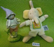 petit doudou éléphant grelot à suspendre MOULIN ROTY NEUF