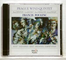 GERARD POULET, DEVOYON - POULENC chamber music PRAGA CD STILL SEALED