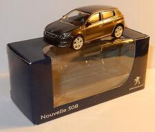 Peugeot 308 5 puertas Doors Norev 1/64 aprox 7 cm