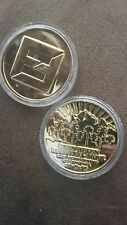 Rare The Foo Fighters Limited Edition Concrete & Gold CAL JAM Concert Coin 10/7