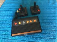 Atari flashback 4 classic game console with 2 controller