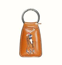 NEW Brown Leather KEY RING w// Bottle Opener Keychain Loop FOB *BOGO 50/% OFF*
