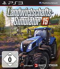 SONY PS3 Landwirtschafts Simulator 15 2015  PlayStation 3 gebraucht OVP komplett