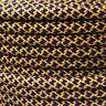 Textilkabel, Leitung Faser umflochten,rund, Abaca Imperial, 3x0,75 H03VV
