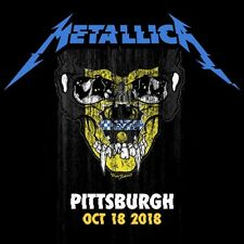 METALLICA / World Wired Tour / LIVE /PPG Gains Arena - Pittsburgh, Oct. 16, 2018