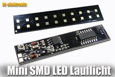10 Kanal SMD LED Lauflicht Modul OHNE LEDS 1206 52x11,5x3,3mm 12V (5-24V)