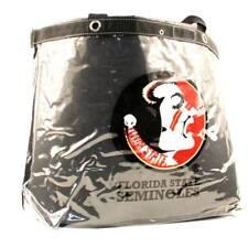 Florida State Seminoles Chief Logo Clear Stadium Large Heavyweight Tote Bag