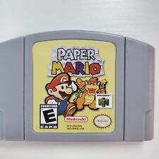 N64 Paper Mario Video Game For Nintendo 64 US Version High Quality