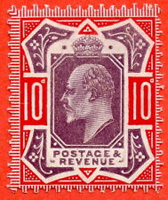 SG. 256. M43 (5). 10d Dull Purple & Scarlet ©. A superb UNMOUNTED MINT example.