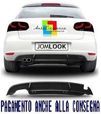 Spoiler posteriore JOM diffusore sotto paraurti Per VW GOLF 6 08 - 12 estrattore