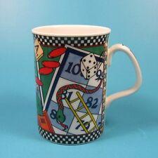 Royal Doulton Everyday GAMES Fine China Mug Checkers Scrabble Philippa Mitchel