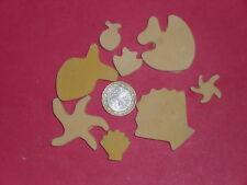 150 grammes de mosaïque plâtre jaune (forme de la mer)