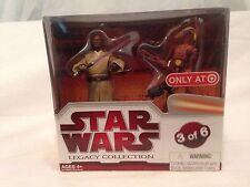 Star Wars  Legacy Collection Mace Windu & Battle Droid Com NIB 3 of 6 MIB 91760