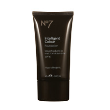 New Sealed Boots No7 Extra Light Intelligent Colour Foundation 40ml SPF 6